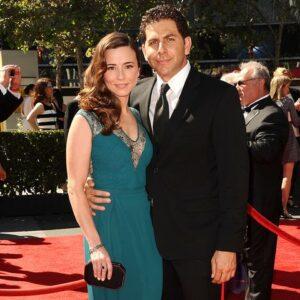 Caption: Linda Cardellini with her husband Steven Rodriguez