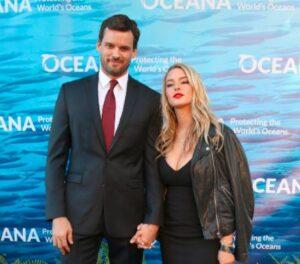 Caption: Hassie Harrison with her ex-boyfriend  Austin Nichols