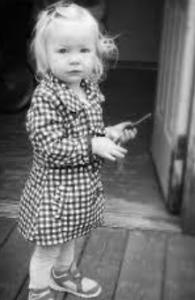 Melissa Wilson's childhood photo