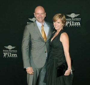Caption: Graham McTavish with his wife Gwen McTavish