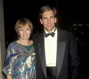 Caption: Tv entertainer Krista Neumann with her ex husband