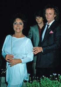 Caption: Anthony Geary withElizabeth Taylor