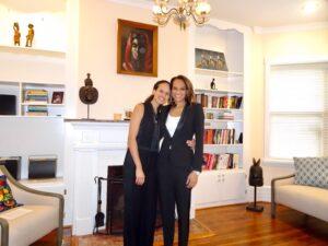 Caption: Caption: Nia Malika with her lovely wife