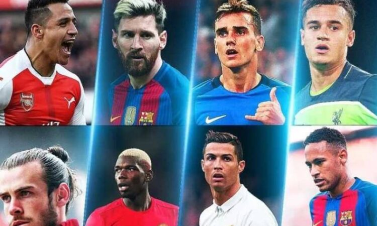 Globally, All-time top 10 Football Players