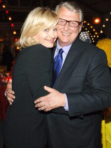 Caption: Diane Sawyer with her husband Mike Nichols