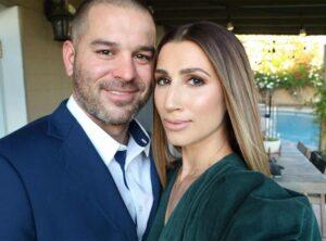 Caption: J J Garcia with his wife Lauran Garcia