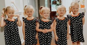 Caption: ava busby with her siblings