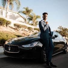 Jothan Peter with his car