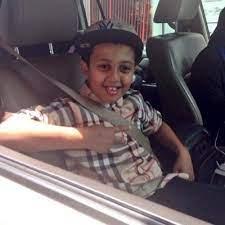 Hamzah Saleh childhood photo