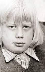 Boris Jonshon childhood photo