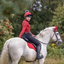 This Esme with her horse